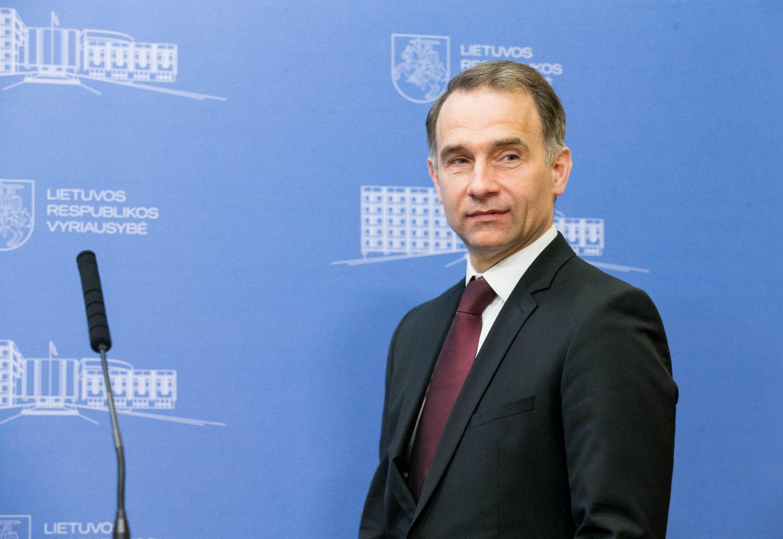 """R. Masiulis susitiko su Vestageraptarti baudos """"Lietuvos geležinkeliams"""""""