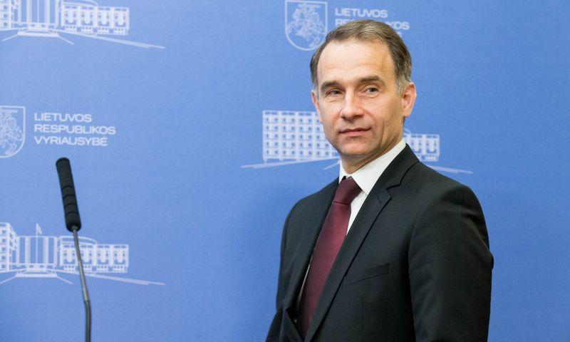 Lietuvos susisiekimo ministras Rokas Masiulis. Juditos Grigelytės (VŽ) nuotr.