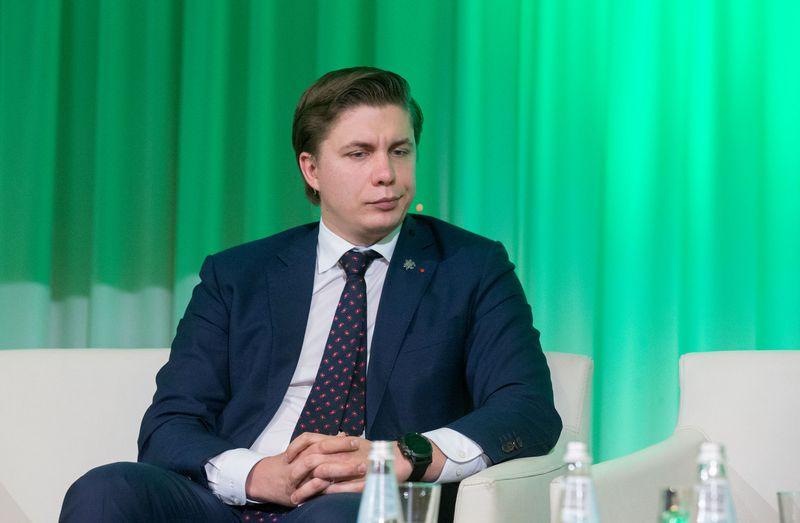 Buvęs  ūkio ministras Mindaugas Sinkevičius. Juditos Grigelytės (VŽ) nuotr.