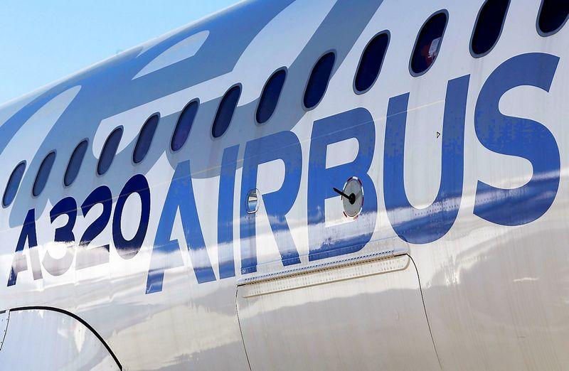 """""""Airbus"""" A320neo lėktuvas. Regis Duvignau (Reuters / Scanpix) nuotr."""