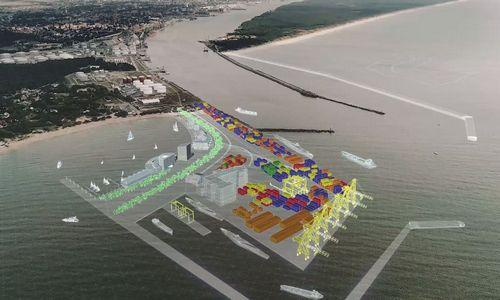 Išorinio uosto vizija įgyja aiškesnius kontūrus