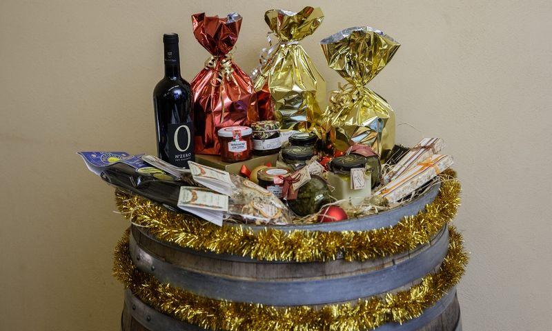 Mandarinai yra vienas iš svarbiausių kalėdinių dovanų atributų. Juditos Grigelytės (VŽ) nuotr.