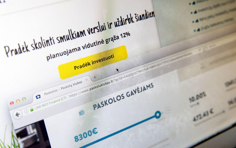 """Per """"Paskolų klubą"""" suteiktų paskolų suma perlipo 10 mln. Eur"""