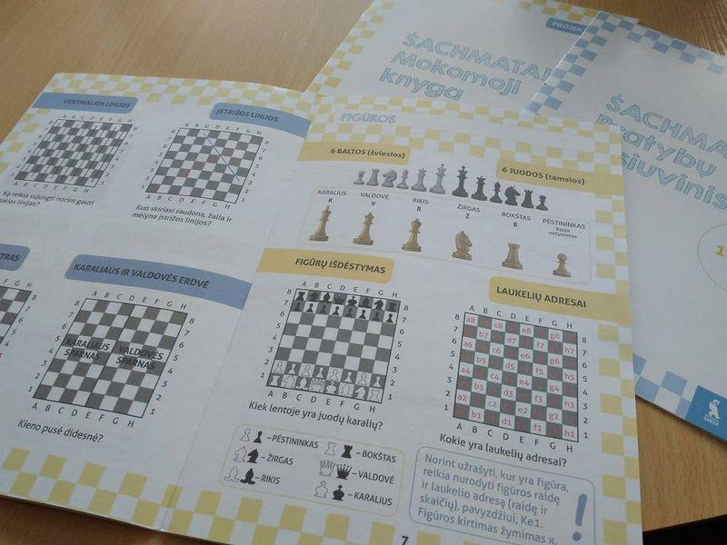 """Leidykla """"Šviesa"""" išleido mokomąją šachmatų knygą pradinukų mokytojams. """"Šviesos"""" nuotr."""