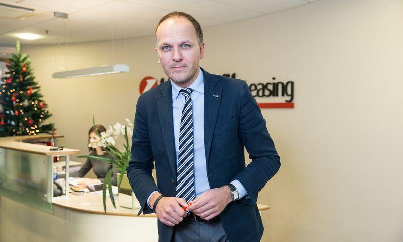"""Laimonas Belickas """"SIA UniCredit Leasing"""" Verslo plėtros vadovas Baltijos, filialo Lietuvoje vadovas. Juditos Grigelytės (VŽ) nuotr."""