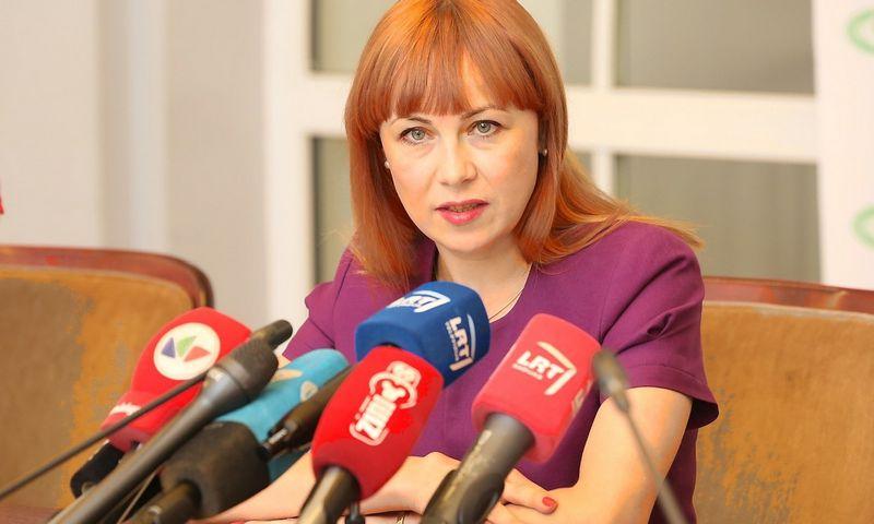 """Jurgita Petrauskienė, švietimo ir mokslo ministrė. Vidmanto Balkūno (""""15min"""" / """"Scanpix"""") nuotr."""