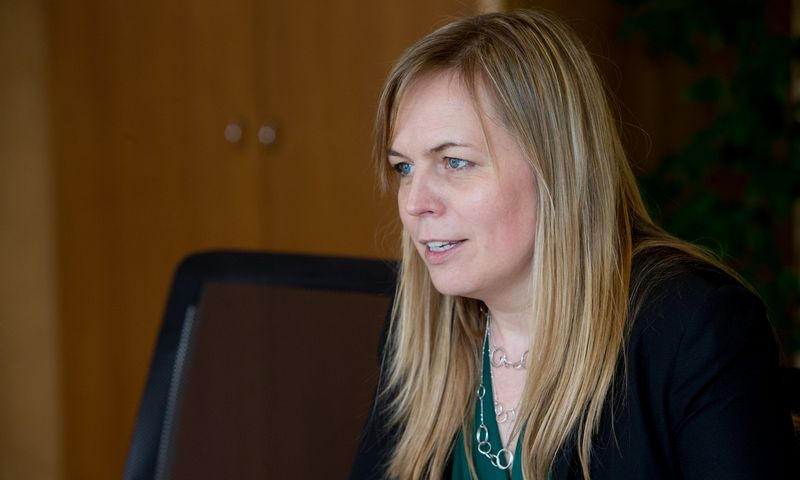 Milda Dargužaitė, Lietuvos Respublikos Vyriausybės kanclerė. Juditos Grigelytės (VŽ) nuotr.