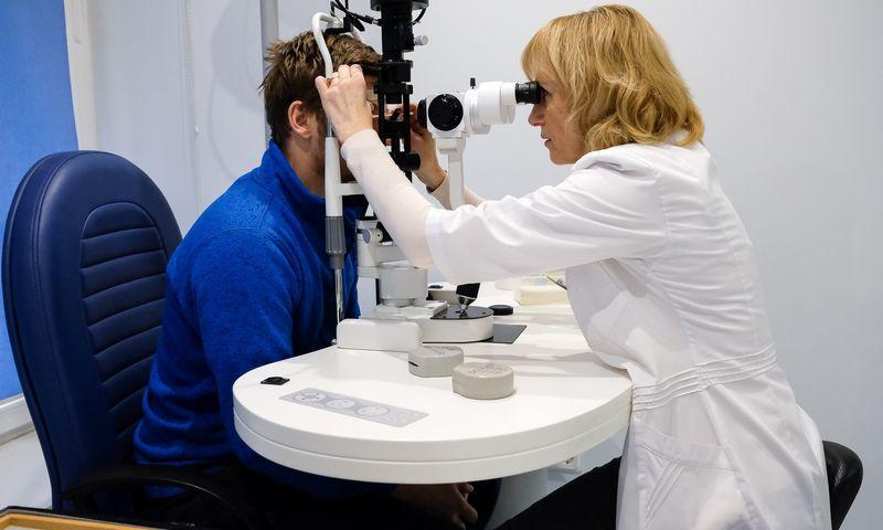 Akių ligų centre naudijama moderniausia įranga. Vladimiro Ivanovo (VŽ) nuotr.