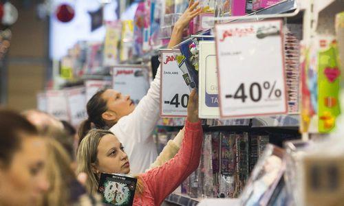 Išpardavimų rezultatai leidžia tikėtis geros kalėdinės prekybos