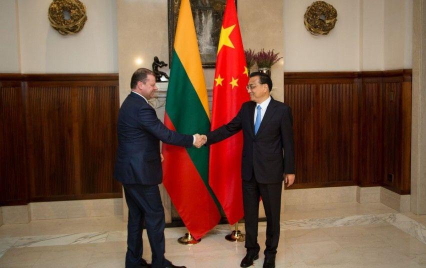 Skvernelis atkreipė Kinijos premjero dėmesį į Klaipėdos uostą
