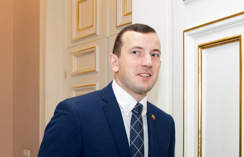 Lietuvos ūkio ministras Virginijus Sinkevičius. Juditos Grigelytės (VŽ) nuotr.