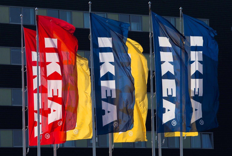 """""""Ikea"""" keičia prekybos strategiją"""