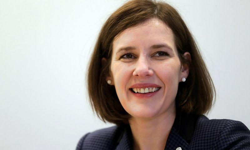 Dana Reizniecė Ozola, Latvijos finansų ministrė. Into Kalninio (Reuters / Scanpix) nuotr.