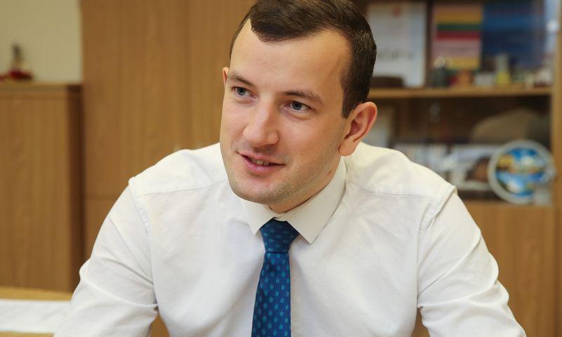 Virginijus Sinkevičius, Lietuvos Ūkio ministras. Vladimiro Ivanovo (VŽ) nuotr.