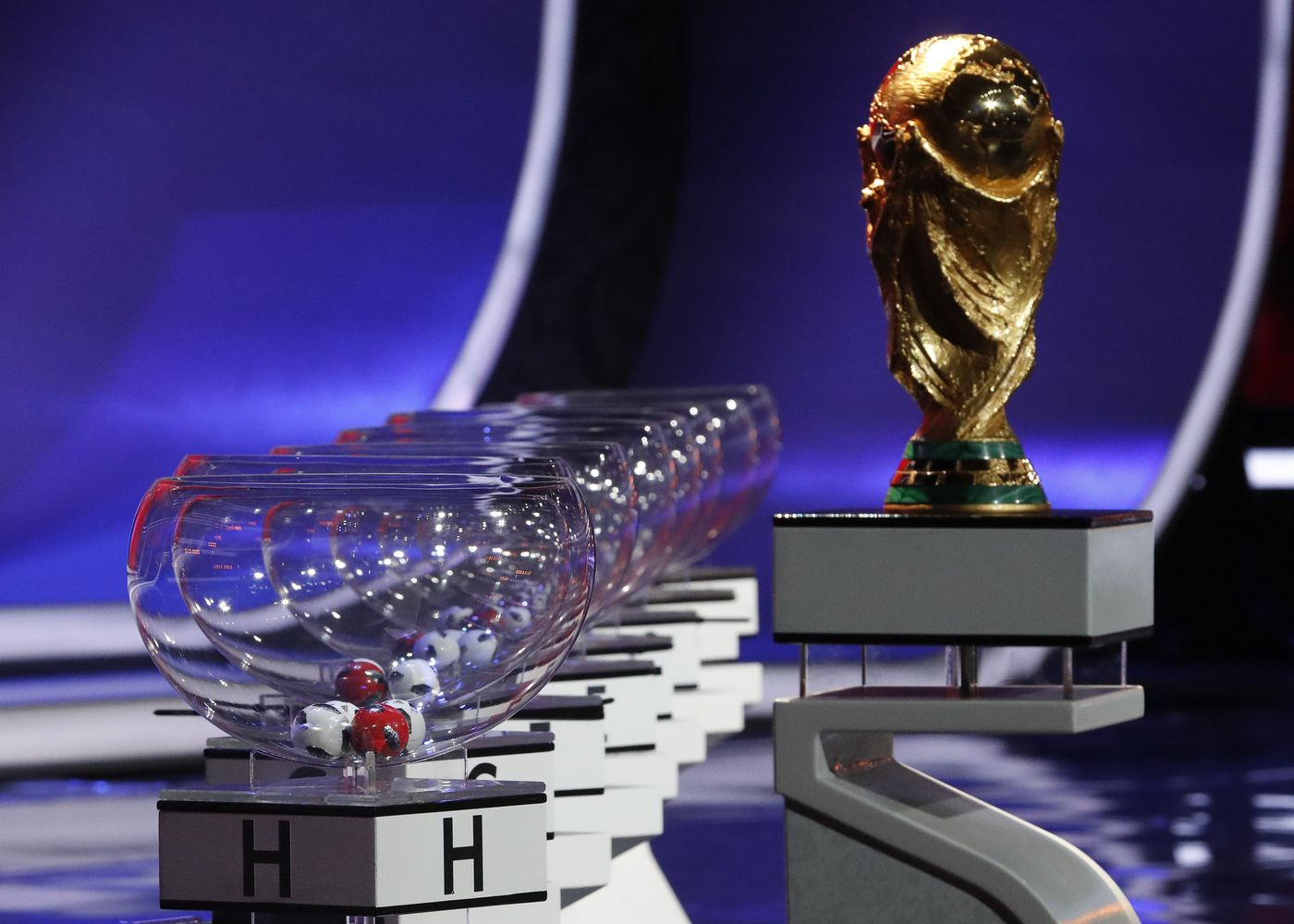 Ištraukti 2018-ųjų pasaulio futbolo čempionato burtai