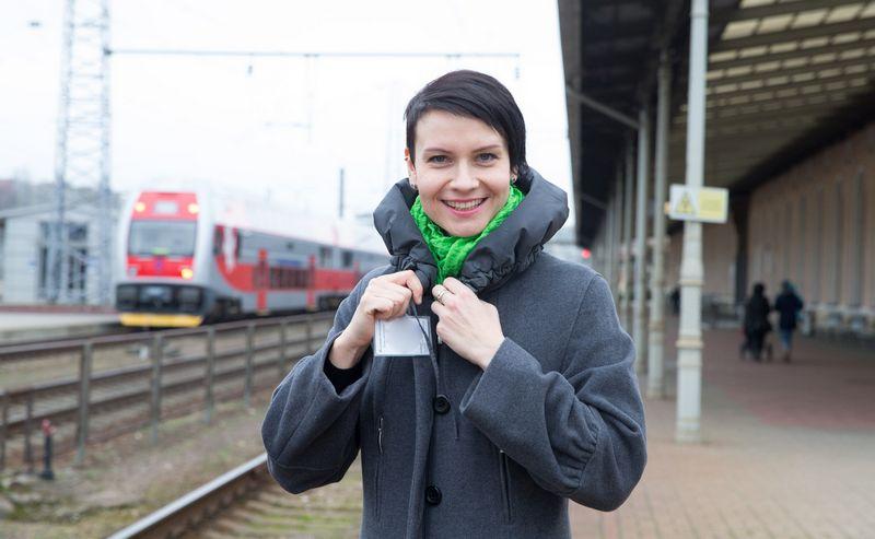 """Eglė Radvilė, """"Lietuvos geležinkelių"""" Informacinių technologijų centro direktorė. Juditos Grigelytės (VŽ) nuotr."""