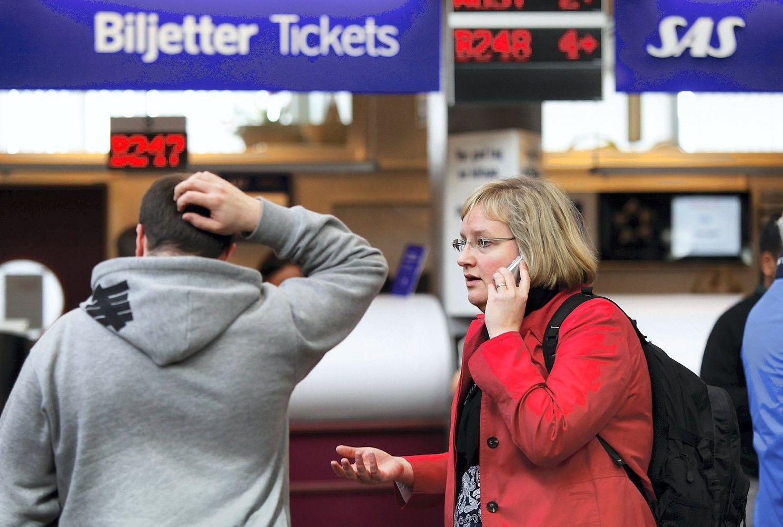 Dėl vėlyvo skrydžių planavimo amerikiečiai praranda daugiausiai