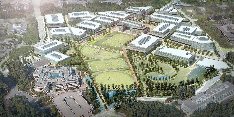 """""""Microsoft"""" griaus dalį savo pastatų – ketina atnaujinti biurų parką"""