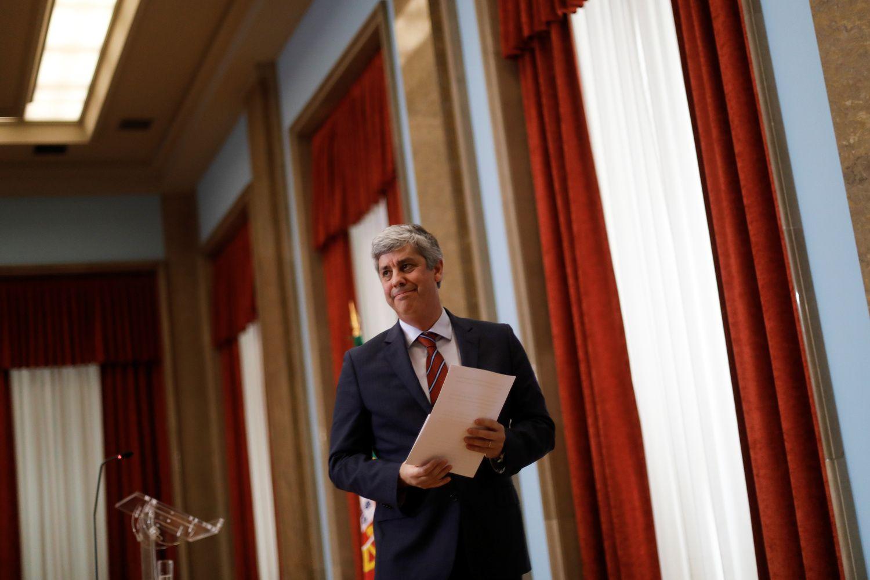 Euro grupei vadovaus portugalas Centeno