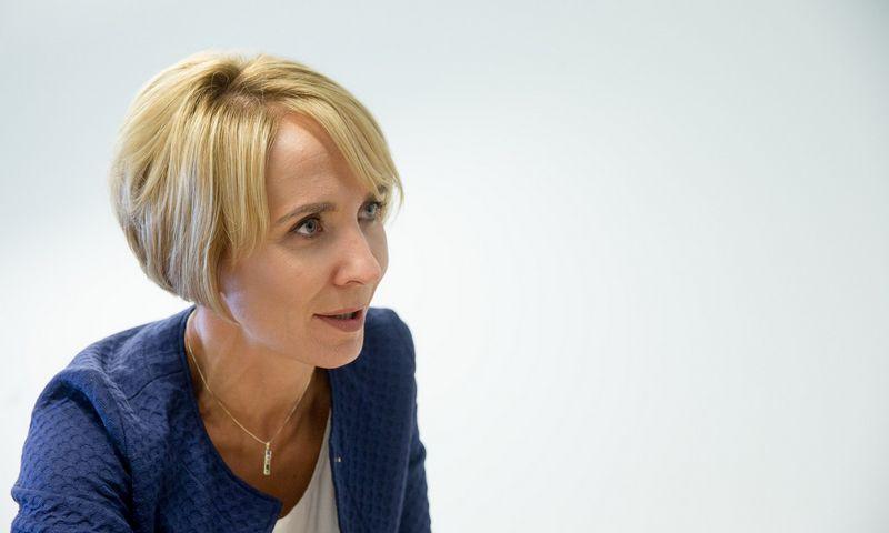 """Dalia Andrulionienė, AB """"Energijos skirstymo operatorius"""" generalinė direktorė ir valdybos pirmininkė. Vladimiro Ivanovo (VŽ) nuotr."""