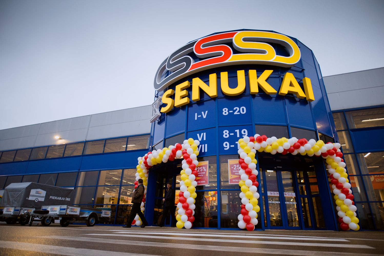 """""""Kesko Senukai"""" Latvijoje atnaujina prekės ženklą"""