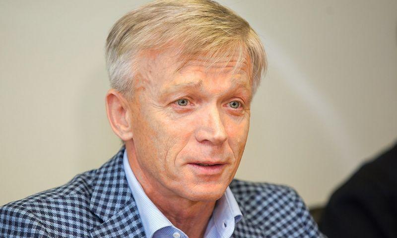 """Arvydas Avulus, AB """"Hanner"""" valdybos pirminikas. Žygimanto Gedvilos (15min.lt) nuotr."""