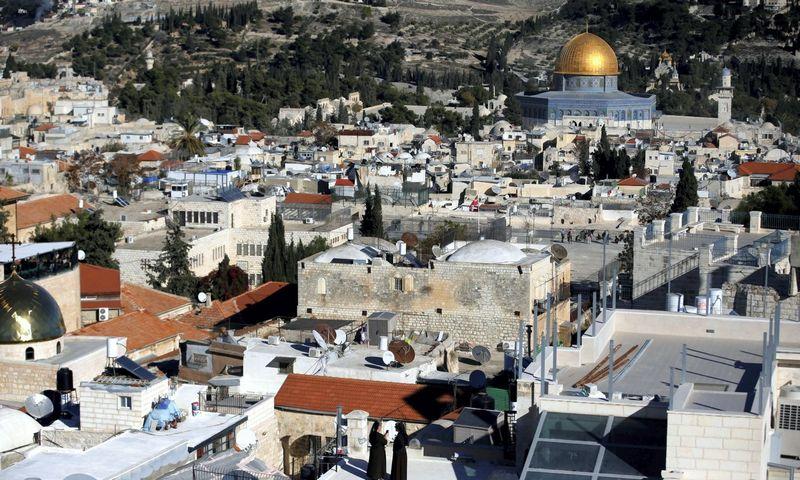 Jeruzalės senamiestis. Roneno Zvuluno (Reuters / Scanpix) nuotr.