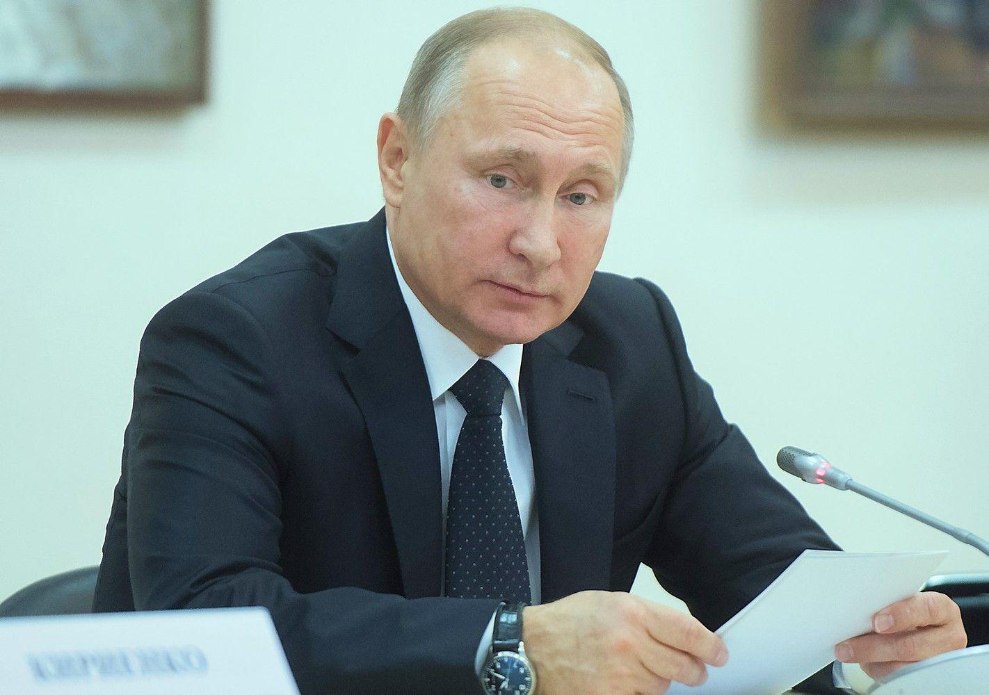 Putinas kitąmetdalyvaus Rusijos prezidento rinkimuose