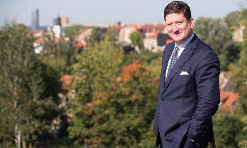 """Paulius Kunčinas, Vilniaus """"blockchain"""" centro valdybos pirmininkas, ekonomistas. Asmeninė nuotr."""