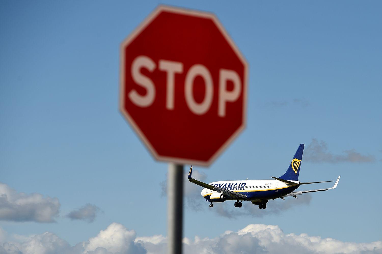 """""""Ryanair"""" pilotai nusiteikę streikui"""