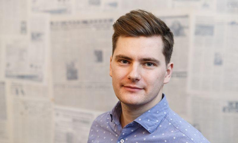 """Lukas Mikelaitis tapo trečiuoju """"Gravitas Partners"""" partneriu. Vladimiro Ivanovo (VŽ) nuotr."""