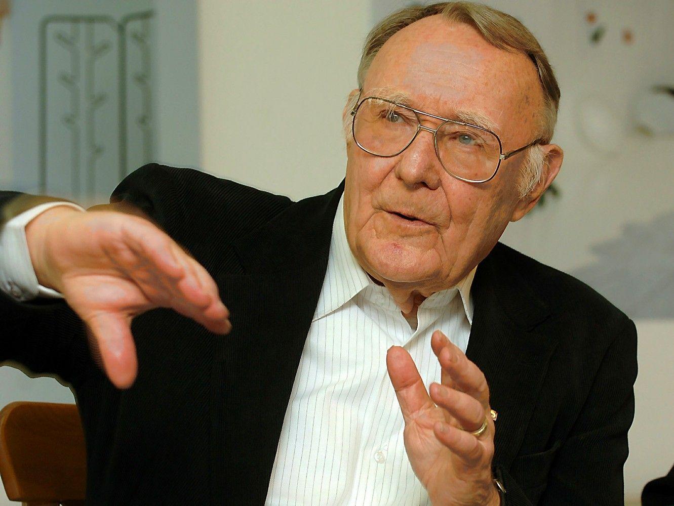 91-erių IKEAįkūrėjas įvertintas už švedų kalbos populiarinimą pasaulyje
