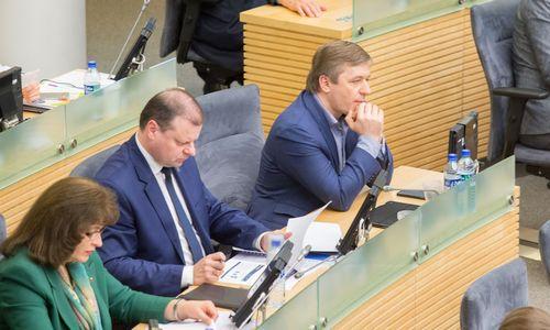 Lietuvos politinė realybė: daugumą turinti valdančioji mažuma