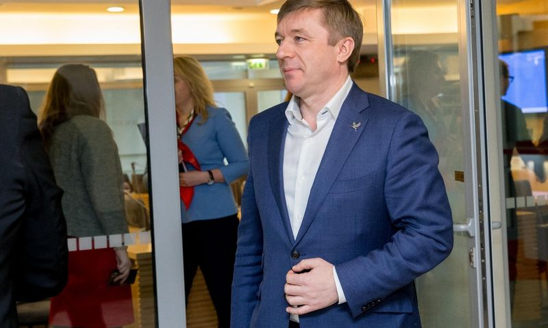 """Seimo narys, LVŽS lyderis, """"Agrokoncerno"""" akcininkas Ramūnas Karbauskis. Juditos Grigelytės (VŽ) nuotr."""