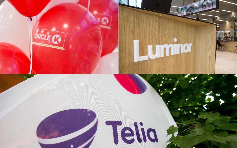 """""""Telia"""", """"Circle K"""", """"Luminor"""": susidomėjimo daugiau, komunikacijos mažiau"""