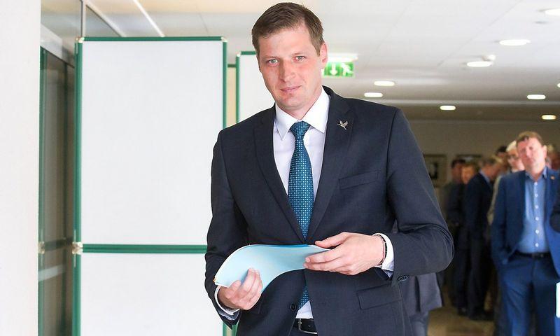 Kęstutis Mažeika, Seimo Aplinkos apsaugos komiteto pirmininkas. Juditos Grugelytės (VŽ) nuotr.