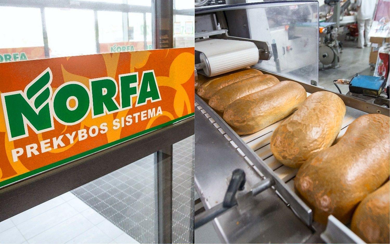 """""""Norfa"""" susikibo su """"Vilniaus duona"""""""