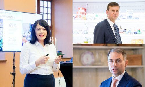 Didysis vadovų kalbėtojų trejetas – Meidė, Dundulis ir Masiulis
