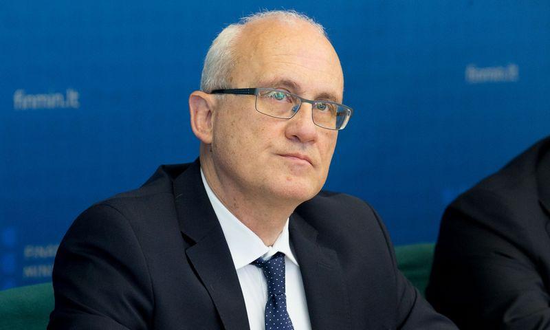 Įstatymo projekto autorius - Stasys Jakeliūnas, Seimo Biudžeto ir Finansų komiteto pirmininkas. Juditos Grigelytės (VŽ) nuotr.