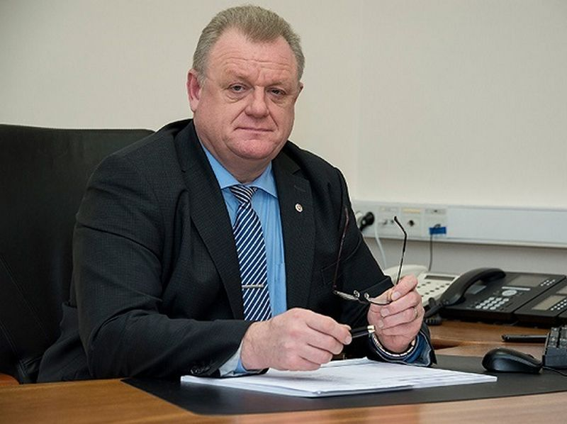 Algirdas Stončaitis, paskirtasis Vyriausybės kancleris. VRM nuotr.