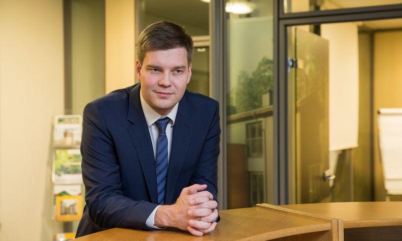 Giedrius Valuckas, UAB Kėdainių laisvosios ekonominės zonos valdybos narys. Juditos Grigelytės (VŽ) nuotr.