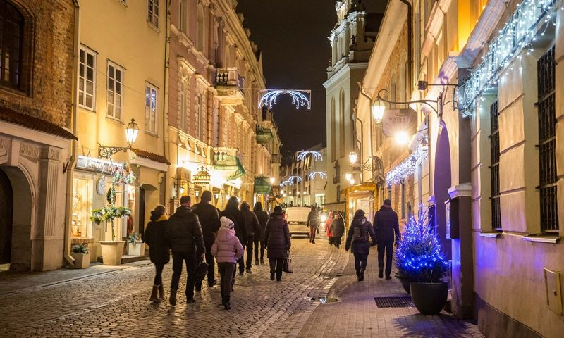 Pilies gatvė Vilniuje. Juditos Grigelytės (VŽ) nuotr.