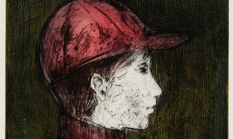 """Nijolė Vedegytė-Palubinskienė, """"Berniukas raudona kepure"""", fragmentas. """"Lewben Art Foundation"""" nuotr."""