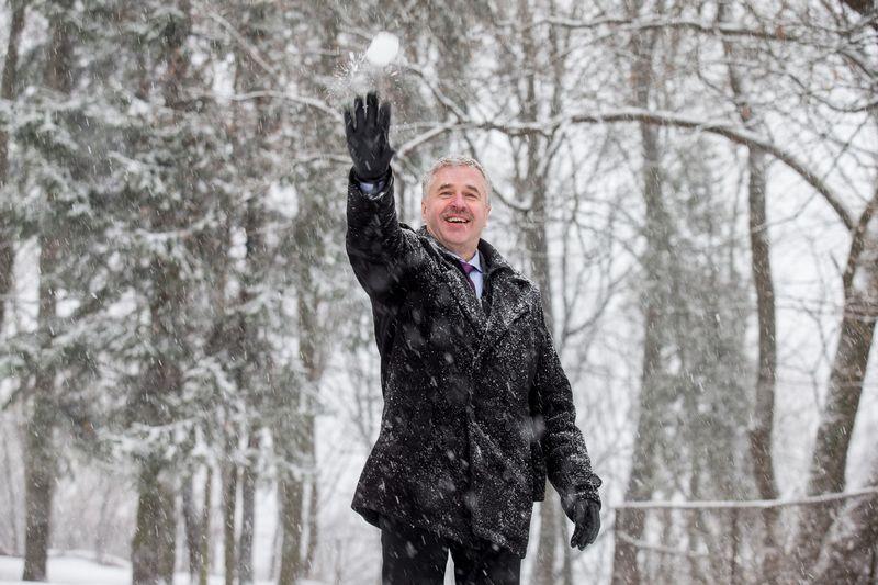 Arūnas Bukantis, Vilniaus universiteto profesorius, klimatologas. Juditos Grigelytės (VŽ) nuotr.