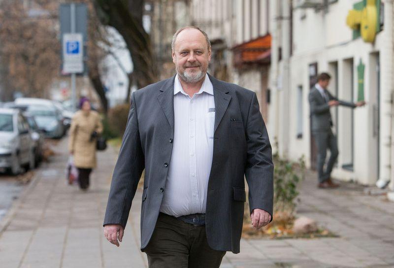 """Kęstutis Ambrozaitis, UAB """"Lithuanian Tours"""" generalinis direktorius, Nacionalinės turizmo verslo asociacijos valdybos pirmininkas. Juditos Grigelytės (VŽ ) nuotr."""