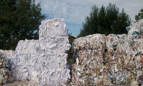 Popieriaus atliekos Visagine virs ekovata