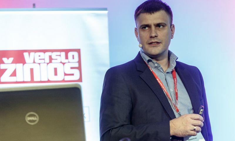 """Tomas Jaskelevičius, UAB ,,Arginta Engineering"""" direktorius: """"Šie ir kiti metai – sektoriaus augimo pikas, o kaip bus vėliau, šiuo metu sunku prognozuoti, nes išlaikyti tokį intensyvų augimą bus nelengva."""" Vladimiro Ivanovo (VŽ) nuotr."""