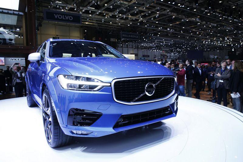 """Volvo XC60"" modelis. Denis Balibouse (""Reuters"" / ""Scanpix"") nuotr."