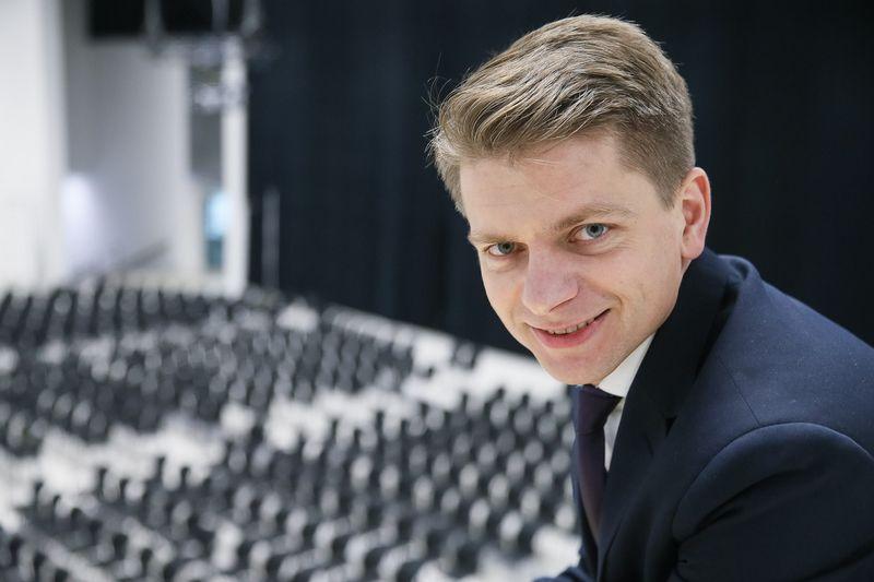 """Justinas Bortkevičius, l. e .p """"Litexpo"""" direktorius. Vladimiro Ivanovo (VŽ) nuotr."""