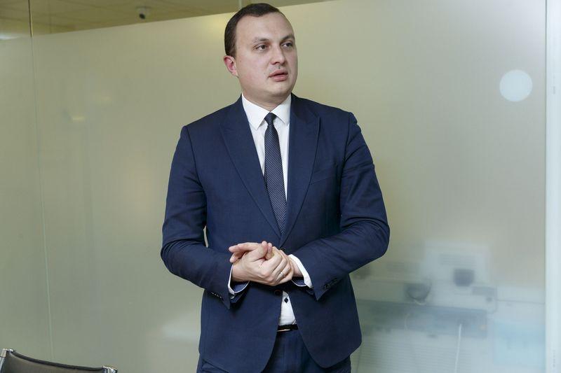 Erikas Bėrontas, Nacionalinės mokėjimo agentūros prie Žemės ūkio ministerijos (NMA) direktorius. Vladimiro Ivanovo (VŽ) nuotr.
